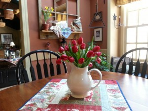 Kitchen table spring
